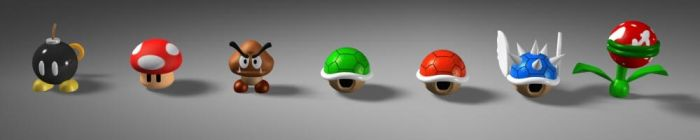 Bob-omb and others by MazeNL77