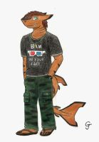 Casual Sweg Shark by Vincent-Wullf