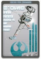 B-wing by jjrrmmrr