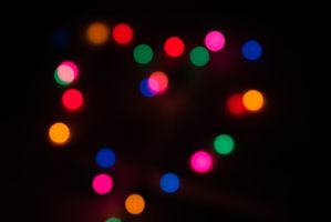 Heart Bokeh by youchangedme
