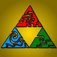 the Triforce by Redfred92