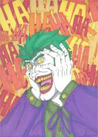 The Joker- Laughing Mad by RobertMacQuarrie1