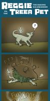 Reggie versus the Treea Pet by TheDelphina