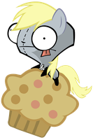 Derpy Gir on Muffin Pig by MrBarthalamul