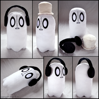 Napstablook Plush by lazyperson202