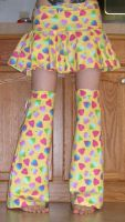 Candy Hearts Skirt Set by StabMeWithASharpie