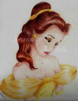 Belle from beauty and beast. by SerenaAmabile
