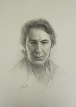 Alan Rickman by yinyuming