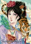ACEO - Year of the Tiger by MeredithDillman