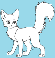Free Cat Lineart by ShastaAdopts