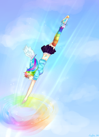 :. Sonic Rainboom .: by Twigileia