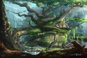 forest_exer001 by ledazou