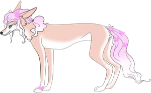 FancyFlowerWolf Adopt OPEN{PRICE LOWERED) by TranquilityBlue