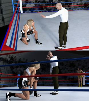 Guadalupe vs Marilyn 20 by bx2000b