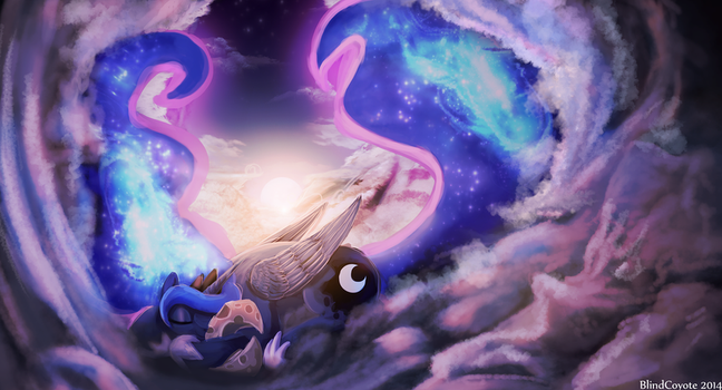 Luna's Slumber by BlindCoyote