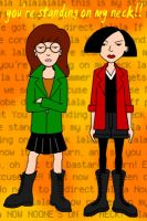 Jane and Daria by mystikalxox