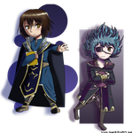 Fire Emblem Awakening: Robin and Robyn by Cloudy-Eevee