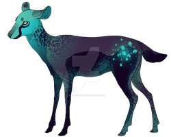Deer twin 2, new character by FrostKruger
