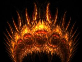 Crown of Fire by SuicideBySafetyPin