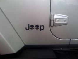Jeep Punisher Sticker by steveclaus