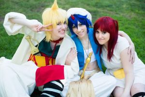 Magi: The Best Team by nightkinks