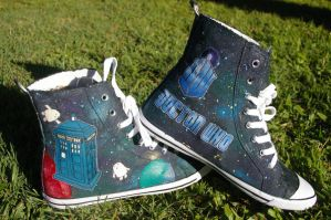 Doctor Who Shoes Mark 2a by DemoiselleDreamer