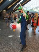 Ghostbuster Luigi by Shiroyuki9
