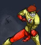 Kid flash young justice by MisakiFinn