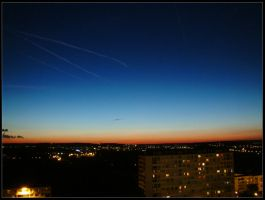 summer sky by Titareco