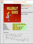 Admirable Animations Hillbilly Hare by cartoonfan22
