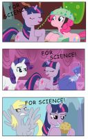 FOR SCIENCE by Saphin