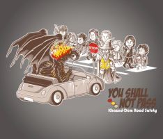You Shall Not Pass by angelsaquero