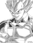 Vegeta super saiyan by TomasBArtWork