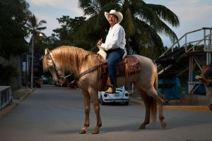 Man on a horse in Mexico by shayne-gray