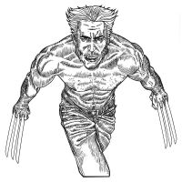 Wolverine - Inked by allistermac