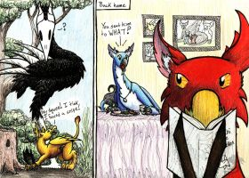 Gryphons Comic REVAMPED by Oddstuffs