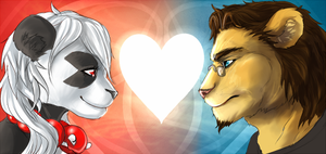 Icon set for me and my BF by Shalinka