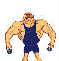 Draw Something: Muscles by zachjacobs