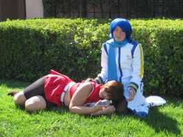 Meiko and kaito- IDK by TheSapphireDragon1