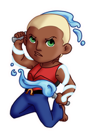 Chibi Aqualad by TwinEnigma