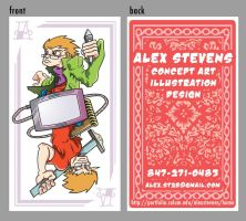 business cards 2010 by AfroAlex