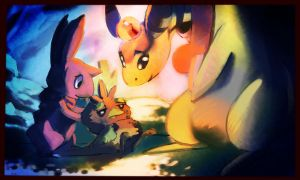 The Team is Safe (PMD-Explorers M5) by Beebonza