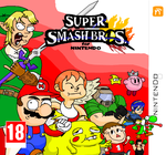 Super Smash Bros. for 3DS Boxart by AwesomeHippie