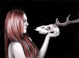 Skull beauty by Sinima