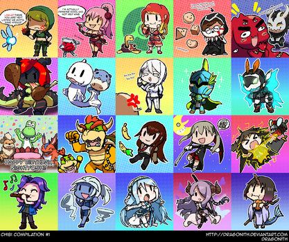 Chibi Compilation #1 by Dragonith