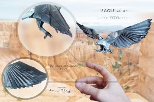 Eagle ORIGAMI by NeptuneMOD