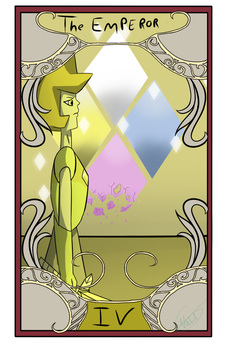 Tarot Card IV:  The Emperor by Nalissia
