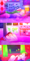 [speedpaint] Youtubers cuddles by ChloesImagination