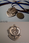 Hogwarts House Crest Pendant - RAVENCLAW by Teo-Hoble