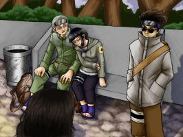 Team 8 Commission Art by bibliophile20